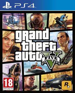 GTA 5 / Grand Theft auto V (PS4) - www.igre.ba
