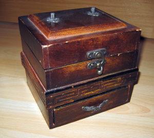 Stara drvena kutija - kutijica