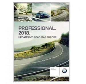 BMW Road Map Europe Professional 2018