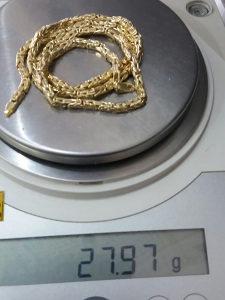 Zlato zlatni lanac kraljevski rad