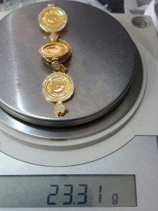 Zlato zlatna narukvica