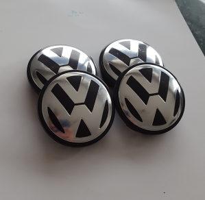 Cepovi za felge VW 56mm / 52mm Golf 5 6 7 Passat Touran