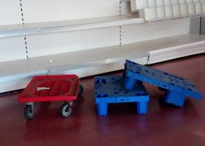 Transportna kolica za PVC gajbe
