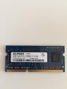 Ram 4GB DDR3 1600MHz za laptop