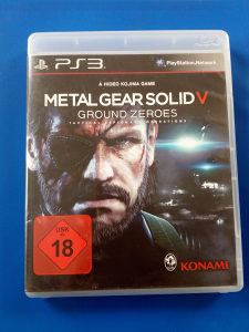 METAL GEAR SOLID V-GROUND ZEROES PS3