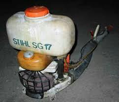 Motorna prskalica Stihl sg17(NEISPRAVNA)POTRAŽNjA