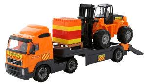 Kamion Volvo sa viljuskarom Polesie, igračke
