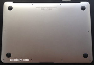 "Macbook Air 11"" A1370 donji poklopac"