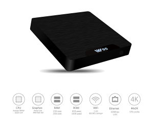 Android TV Box W95 2/16GB S905W Android 7.1