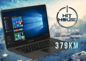 Laptop Mediacom M-SB140 Quad Core 1.92GHz 2GB RAM