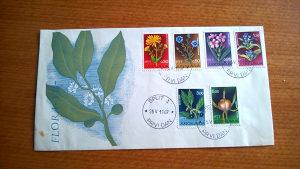 Koverta prvog dana Flora VII