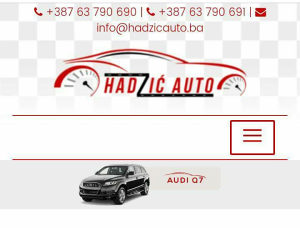 HADZIC AUTO RENT A CAR AERODROM TUZLA-DUBRAVE