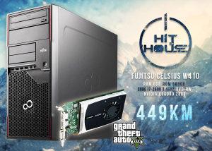 Fujitsu Celsius W410 Core i7 3,4GHz 8/500   Graficka