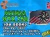 Grafika GTX 750 1GB GDDR5 OEM 2018