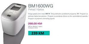 Gorenje pekač hljeba BM1600WG