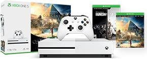 MICROSOFT Xbox One S, 1.0TB, Assassin's Creed Bundle