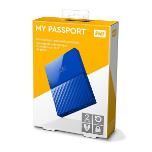Eksterni HDD 2TB WD My Passport 2,5""