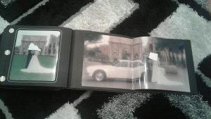 foto album sa koznim koferom