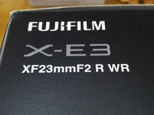 Fujifilm fuji X-E3 23mm f2 Novo Povoljno