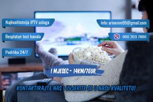 IPTV Full HD Besplatan TEST preko 4200 kanala EPG, LOGO
