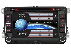 "Auto Radio Navigacija 7"" USB,DVD,BT, za GOLF PASAT SEAT"