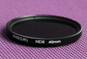 ND8 filter 49 mm Nikon, Canon, Sony ND