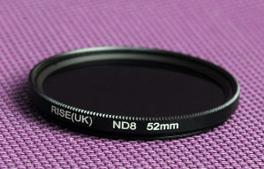 ND8 filter 52 mm Nikon, Canon, Sony ND