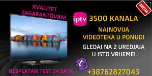 NAJKVALITETNIJA IPTV U HD-u SA 3500+ KANALA-SERVIS 24/7