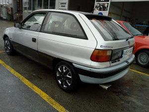 Opel Astra registrovana citavu godinu