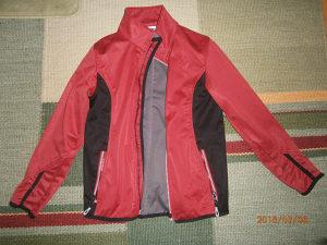 CRANE  jakna.Broj 134/140.Kao nova!Boja crvena/crna