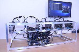 AKCIJA MINING RIG 6x MSI GTX 1060 / GTX1060 6GB , ZEC