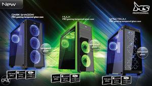 i7 8700K 4.7GHZ , GTX 1050Ti 4GB , 8GB Ram
