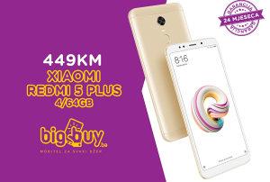 XIAOMI REDMI 5 PLUS 4GB/64GB EU - www.bigbuy.ba