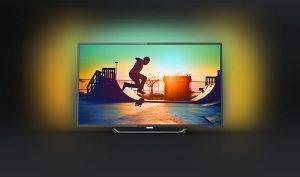 "Philips 4K 65"" UltraHD TV 65PUS6262 AMBILIGHT Smart"