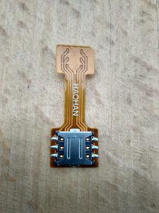Hibridni Dual SIM adapter za XIAOMI