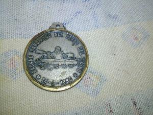 Medalja Italija kajak 1986 g.