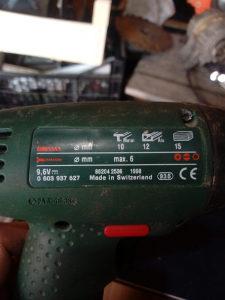Aku busilica Bosch 9.6v