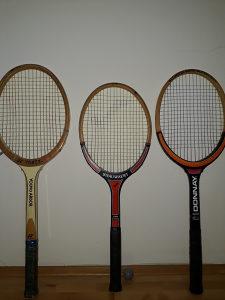Reketi za tenis ukrasni