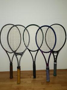 Reketi za tenis, vise komada
