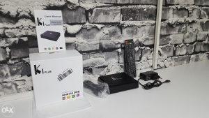 Android TV Box KI Plus/DVB-T2 DVB-S2/4K/Quad/1GB