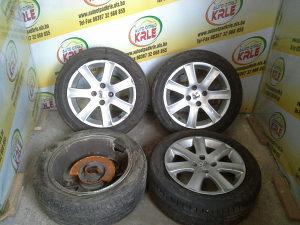 Alu felge gume Pezo 207 4x108 195x55R16 ost1 KRLE 16046