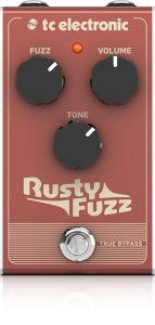 TC electronic Rusty Fuzz pedala