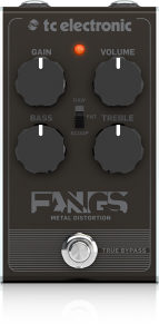 TC electronic Fangs Metal distortion