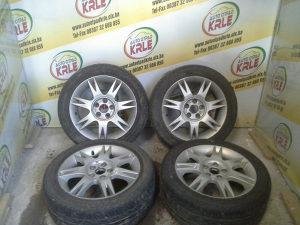 Alu felge gume Ibiza 5x100 195X50R15 KRLE 16054