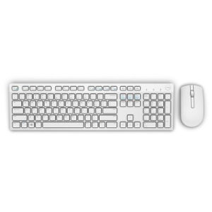 Dell Wireless Keyboard and Mouse-KM636 White