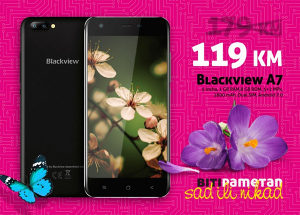 Blackview A7 | 1gb + 8gb | Dual 5 + 0,3 Mpx | Dual Sim