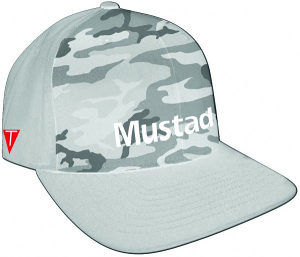 Mustad Multi Fit Cap Gray Camo kacket