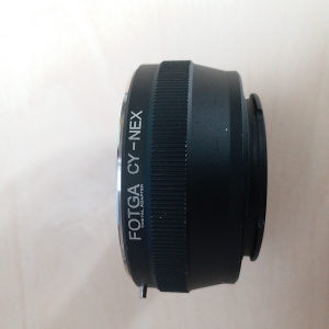 Contax/Yashica to Sony e-mount adapter