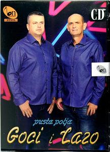 CD GOCI I LAZO PUSTA POLJA ALBUM 2015 BN MUSIC KRAJISKA KRAJISNICI NARODNA FOLK