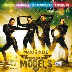 CD GRUPA MODELS MAXI SINGLE ALBUM 2013 CITY RECORDS SERBIA, BOSNIA CROATIA